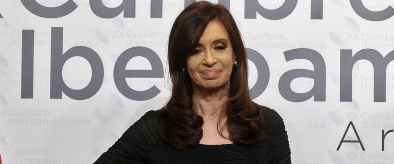 ARGENTINA-IBEROAM-SUMMIT-KIRCHNER-QUEEN SOFIA