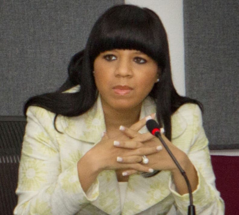 Katrina Naut, directora dela Direccion de Comercio Exterior