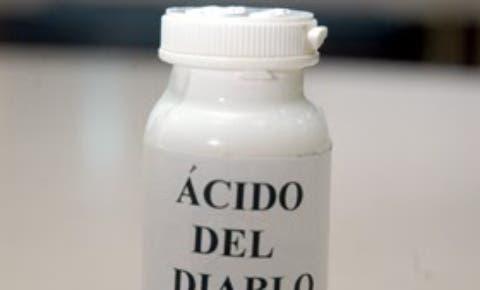 """Pro Consumidor emite resolución prohíbe venta definitiva químicos usan para elaborar """"ácido del diablo"""""""