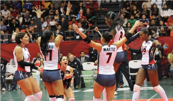 Dominicana reafirma supremacía en voleibol femenino