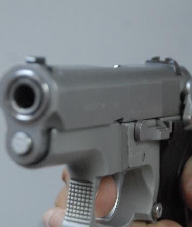 Pistola, arma de fuego patrulla