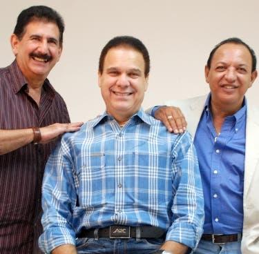 Integrantes del Conjunto Quisqueya, Chuky, Javish y Abi. Hoy/ Napoleón Marte