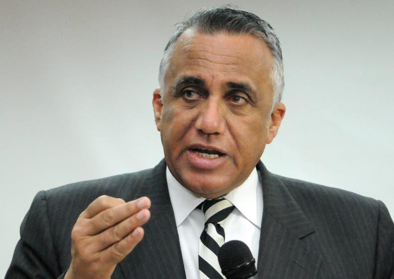 Luisín Mejía, presidente del Comité Olímpico.