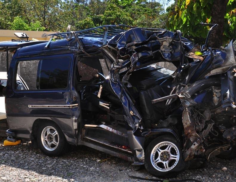 Accidente en Azua