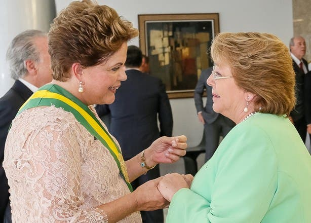 DILMA ROUSSEFF Y MICHELLE BACHELET