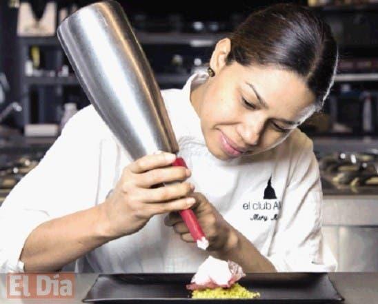 La chef dominicana María Marte.