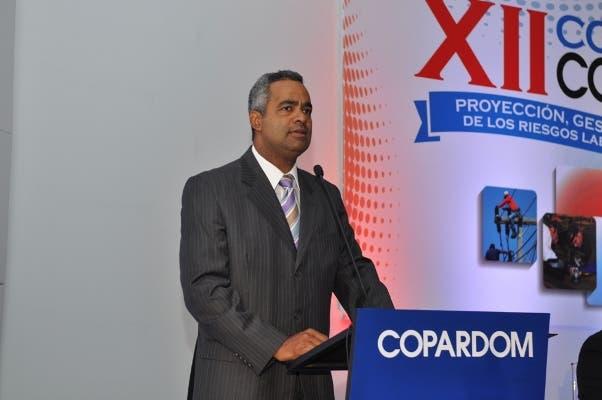 Joel Santos Vicepresidente de COPARDOM