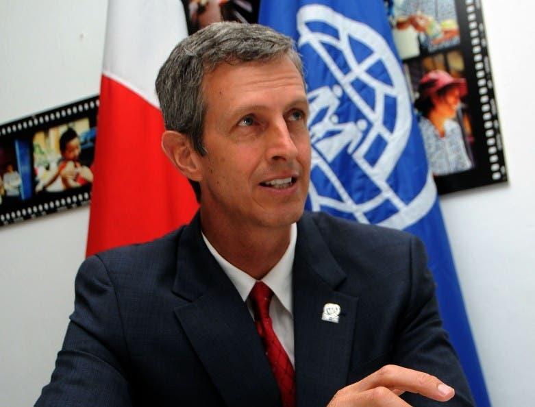 Cy winler Representante organizacion Intenaconal de las migraciones