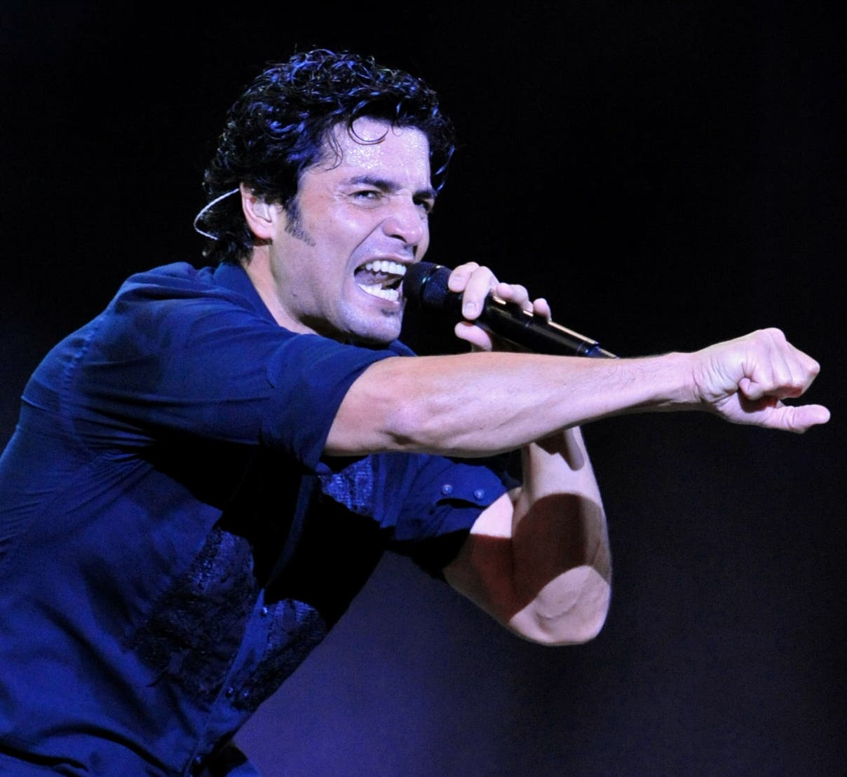 CHILE-FESTIVAL-SONG-PUERTO RICO-CHAYANNE
