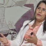 Maritza Hernández, aspirante presidencial por el PLD.