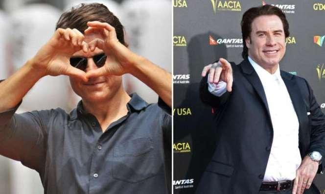 Tom Cruise y John Travolta, 30 años de romance oculto según la prensa americana