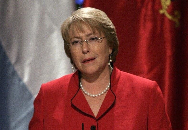 Presidenta de Chile, Michelle Bachelet.