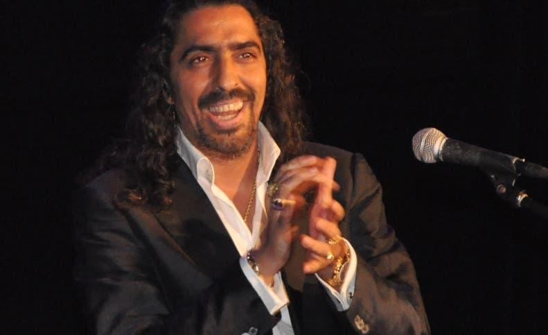 Diego El Cigala durante una de sus presentaciones. Foto de archivo