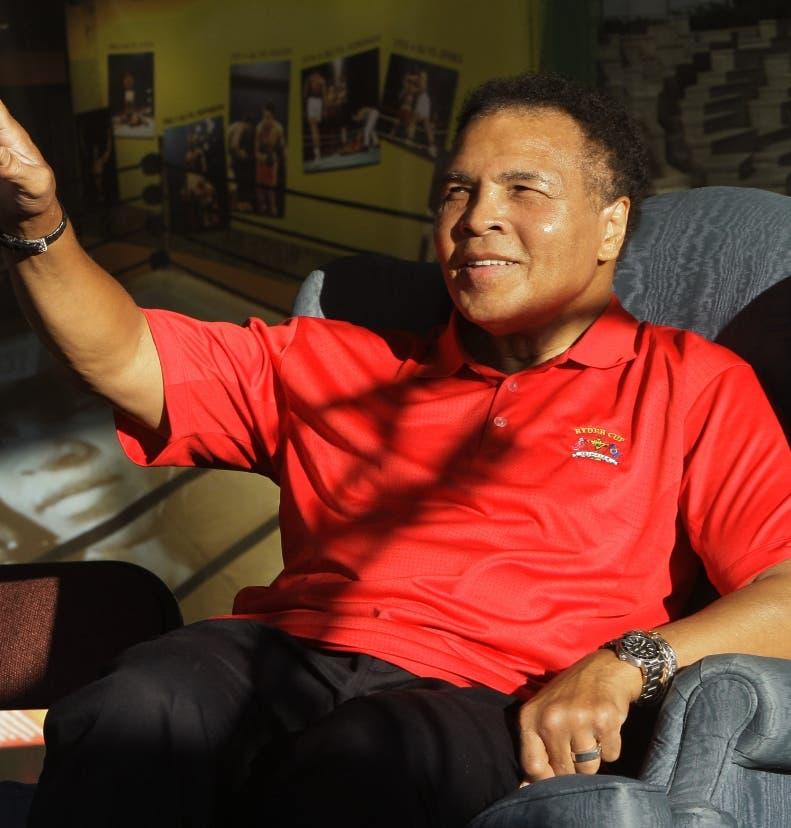 Muhammad  Ali escribió un plan detallado para sus funerales