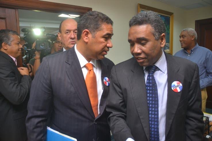 Prim Pujals, Francis Vargas y Félix Bautista