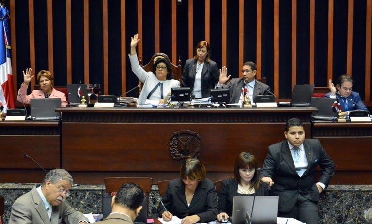 Senado aprueba proyecto de ley sobre Juicio de Extinción de Dominio