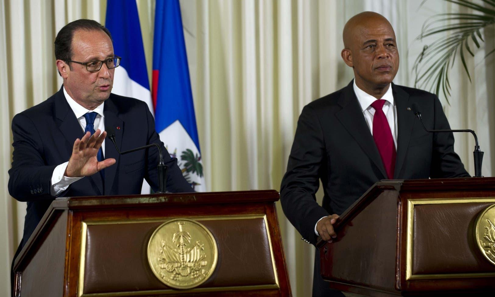 HAITI-FRANCE-DIPLOMACY