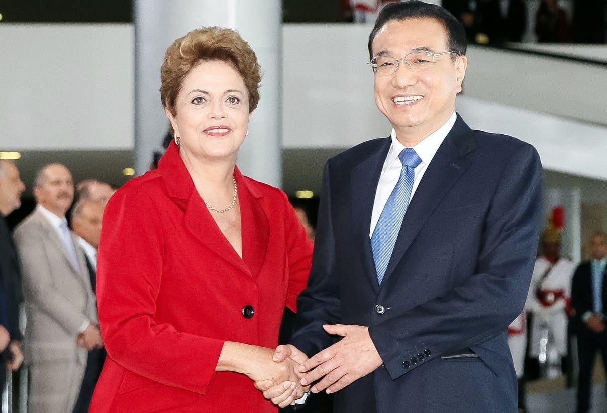 BRAZIL-CHINA-ROUSSEFF-LI KEQIANG