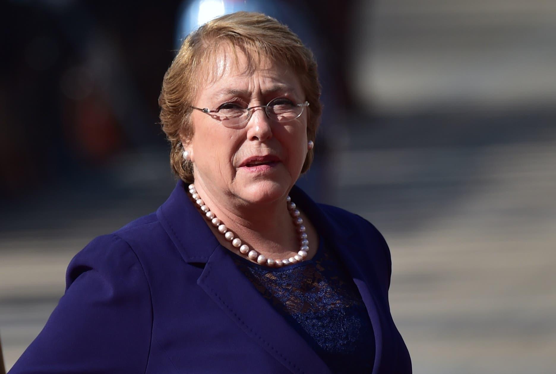 Michelle Bachelet. AFP