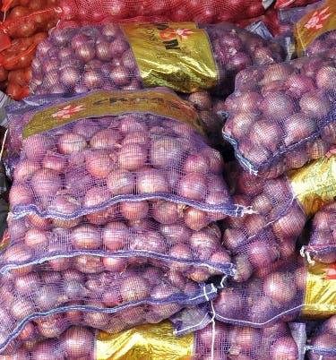 Comerciantes advierten que  habrá  escasez de cebolla