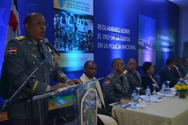 Policía Nacional lanza Reglamento sobre uso de la Fuerza y Reforma Sistema Educativo policial