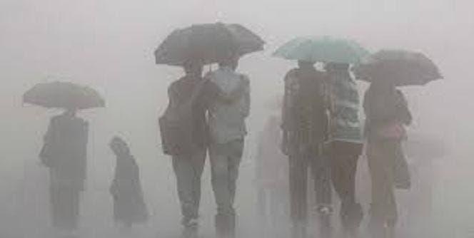 Onda tropical y vaguada seguirán provocando aguaceros en la tarde de hoy
