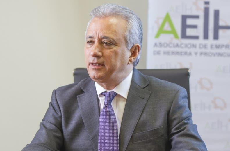 Antonio Taveras Guzmán, presidente de entidad.