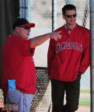 MLB: Los Angeles Angels-Pitchers and Catchers Workout