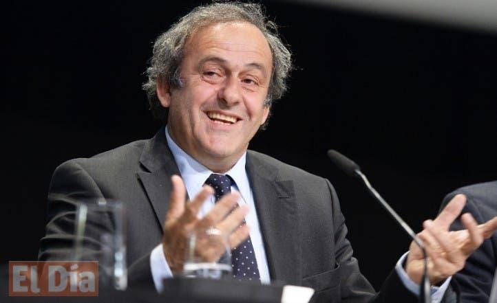 Switzerland Soccer FIFA Election Platini