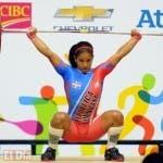 Cándida Vásquez logra primer oro para RD y establece récord.