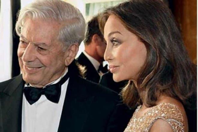 Vargas Llosa confirma relación con Isabel Preysler