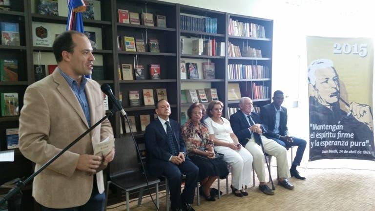 premiación Fundación Juan Bosch