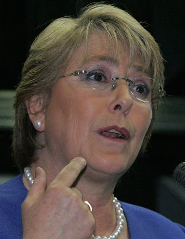 COSTA RICA-CHILE-BACHELET