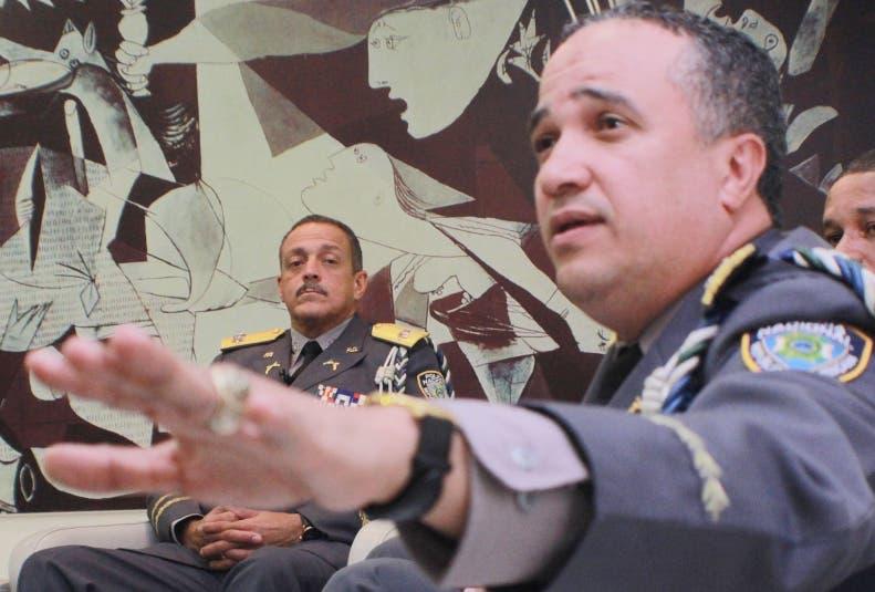 El mayor Ney Aldrin de Jesús Bautista Almonte, fue nombrado hoy como nuevo jefe de la Policía.