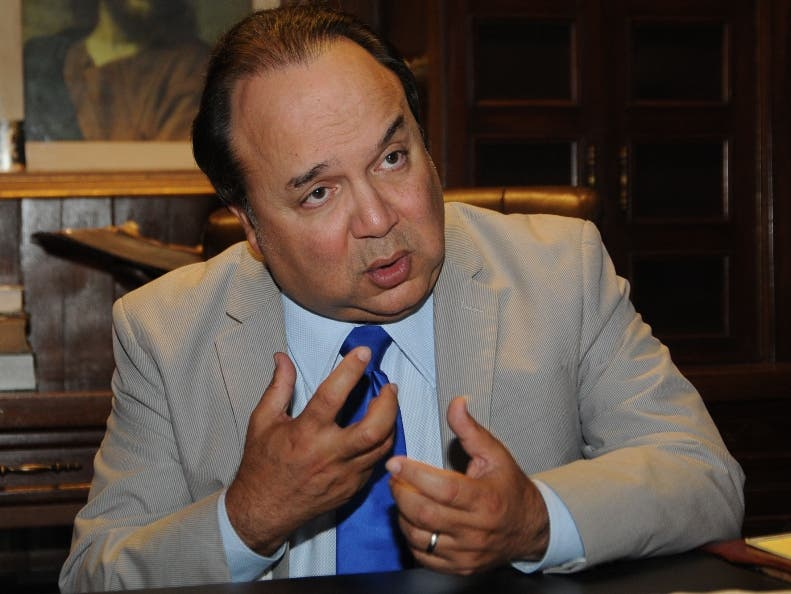 Vinicio Castillo es diputado por la Fuerza Nacional Progresista.