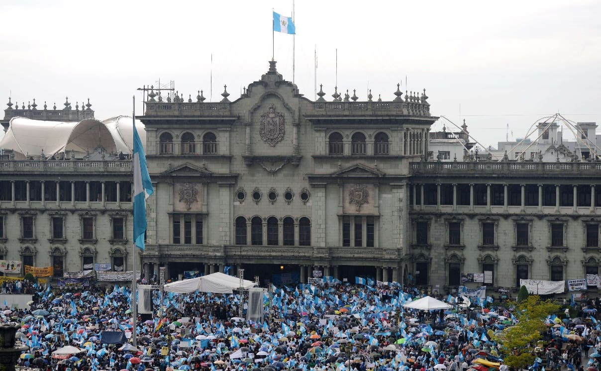 GUATEMALA-POLITICS-CORRUPTION-PROTEST