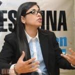 Olga Diná Llaverías, fiscal de la provincia  Santo Domingo.
