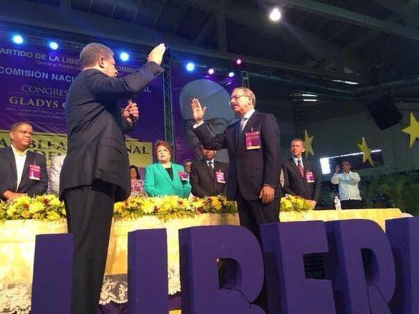 Danilo Medina es proclamado Candidato Presidencial para las elecciones del 2016