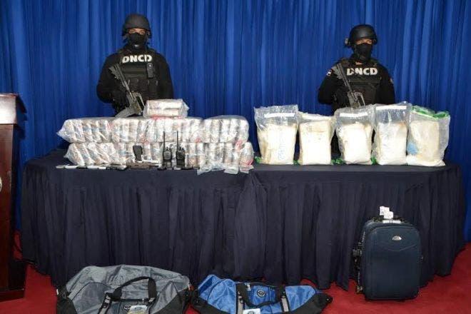 DNCD desmantela red narcotraficantes comerciaba desde RD a Puerto Rico