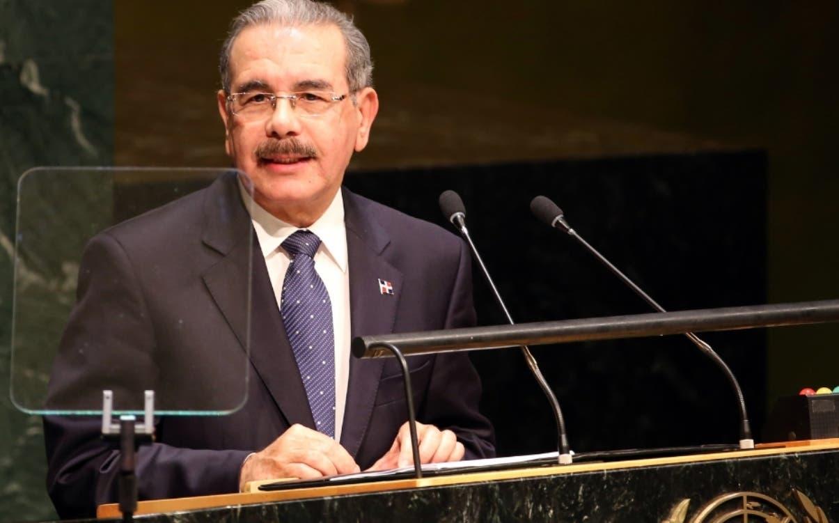 Discurso del Presidente Danilo Medina en la ONU.Hoy/Fuente Externa 24/9/14