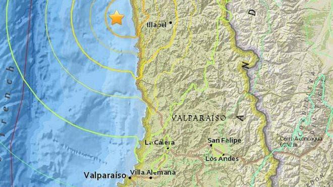 Decretan alerta de tsunami tras sismo de magnitud 8,3 en el centro de Chile