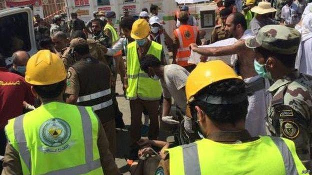Al menos 717 muertos y 805 heridos en una estampida durante peregrinación a La Meca
