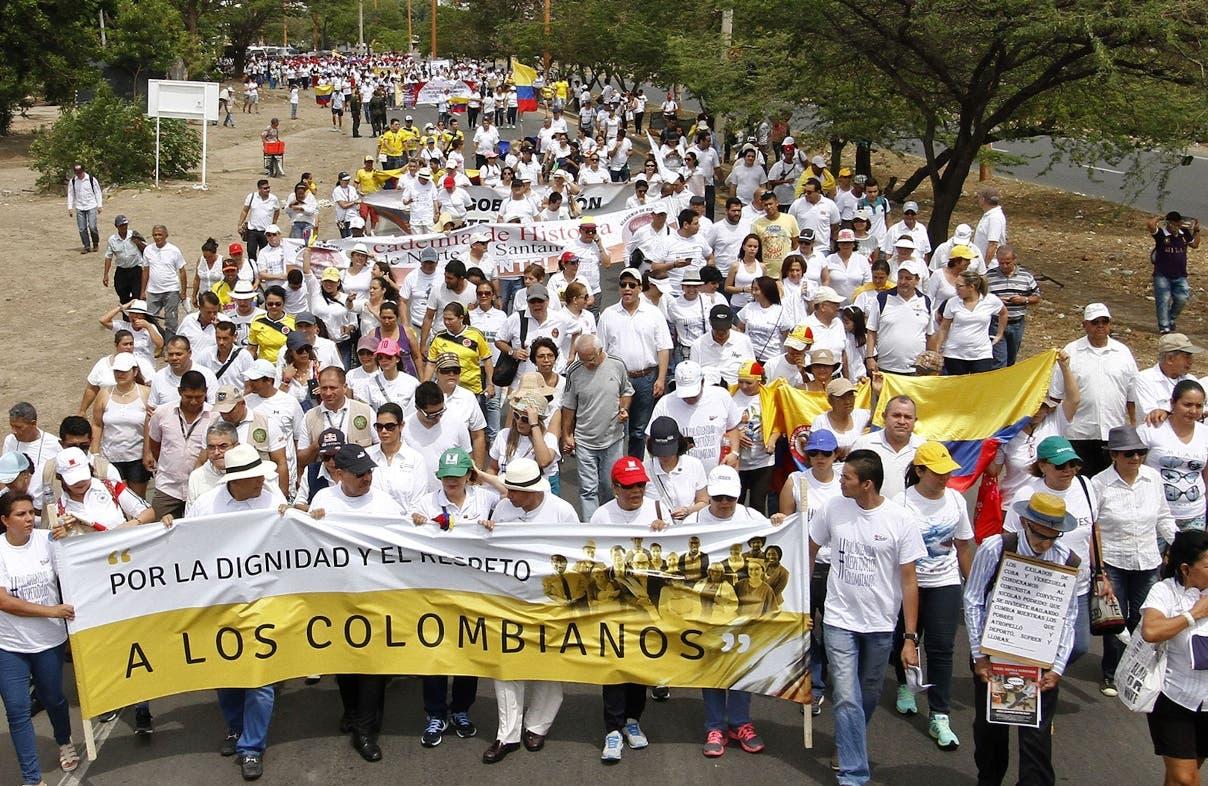 COLOMBIA-VENEZUELA-BORDER-PROTEST
