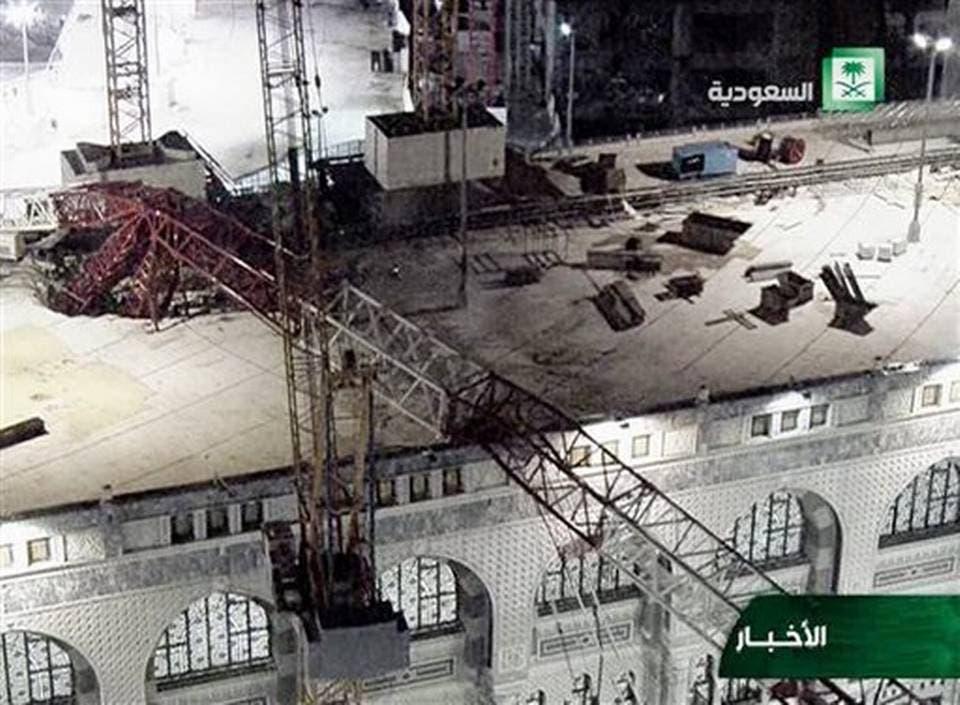 Video: Al menos 107 muertos y 238 heridos al caer grúa en mezquita de La Meca