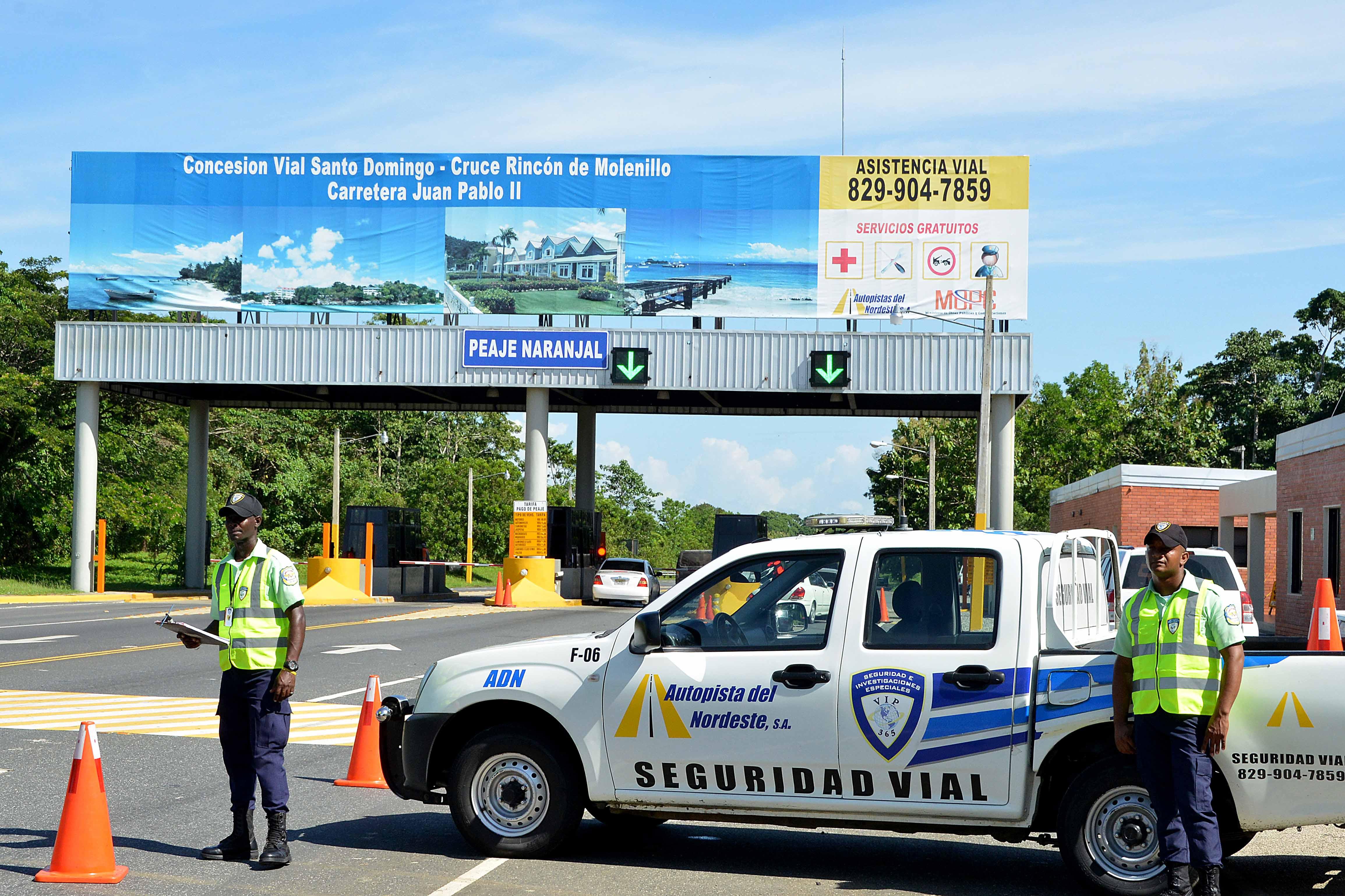 Realizan operativo en autopistas por el feriado del Día de las Mercedes
