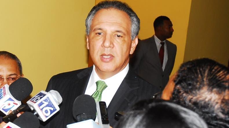 José Ramón Peralta.ministro administrativo de la presidencia/foto José de León