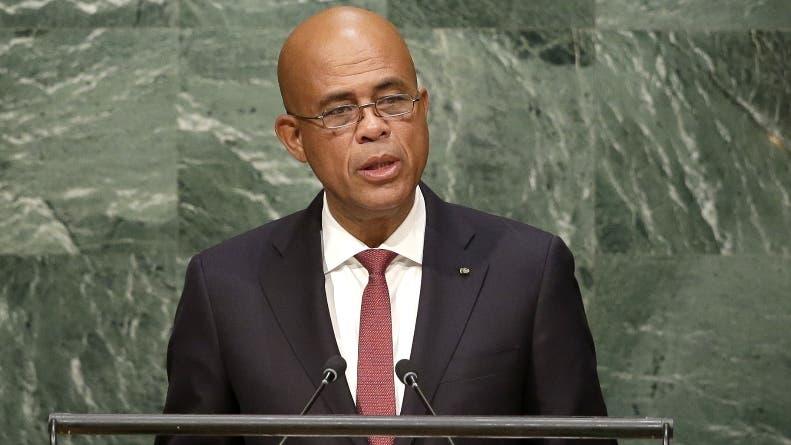 Martelly resalta bonanza de Haití