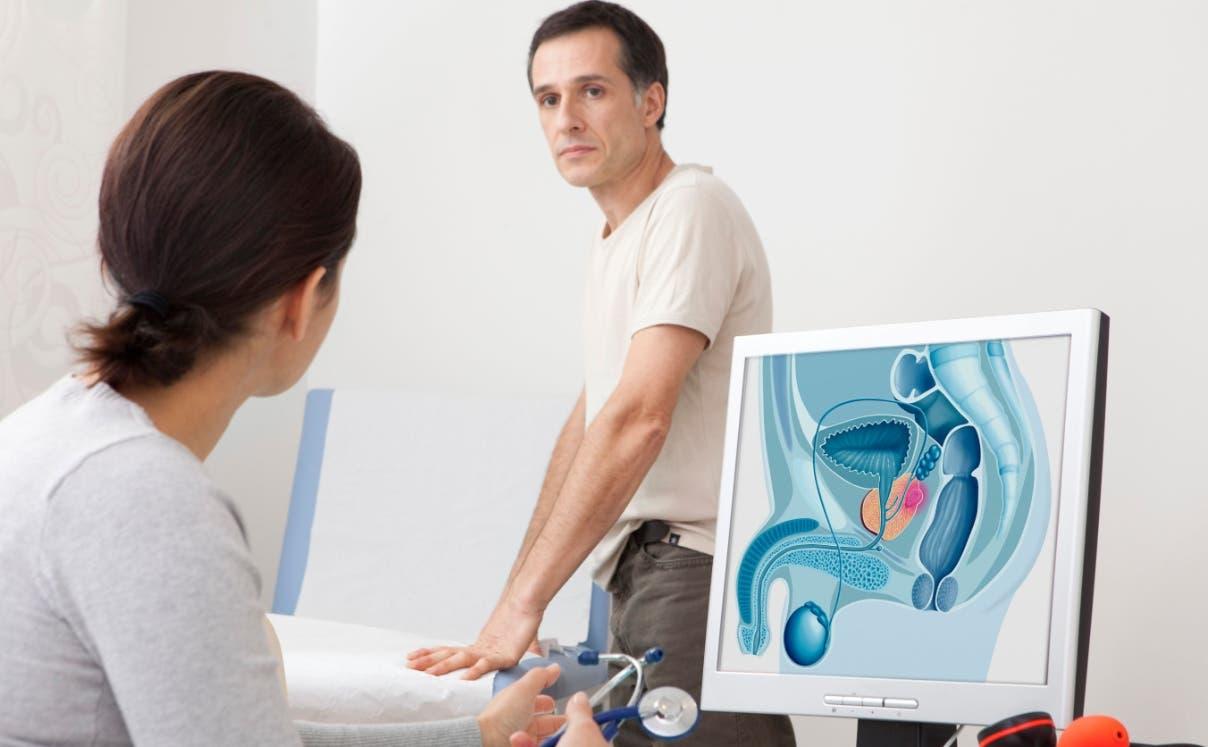 Cáncer próstata,  uno de los que más  detectan