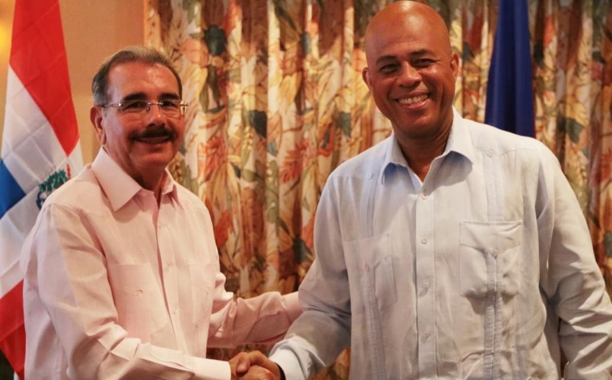 Danilo y Martelly se reúnen en Barahona