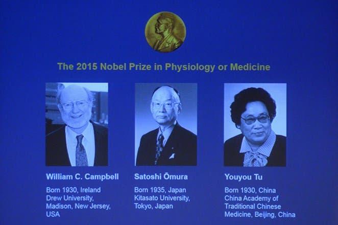 Nobel de Medina para tres descubridores de terapias contraindicaciones Infecciones parasitarias.